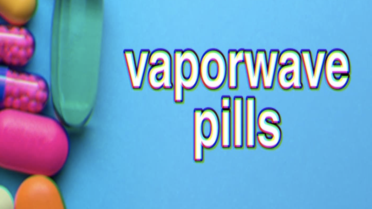 Vaporwave pills 💊 Aesthetic fashion '70